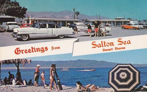The Salton Sea circa 1961