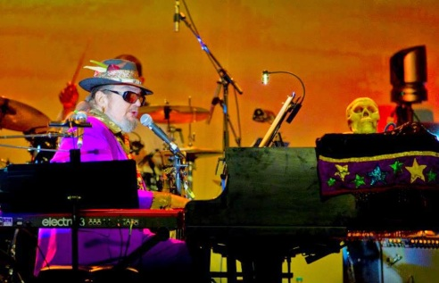 Dr John at Bluesfest - photo by Paul Smith Images